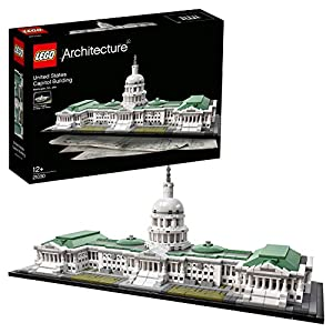 LEGO 21030 Architecture United States Capitol Building Model Set, Skyline Collection, Construction Collectible Gift Idea, Contains 1, 032 Pieces