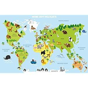 Poster Weltkarte Kinder günstig online kaufen | Dein Möbelhaus