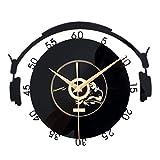Baoblaze Musikalische Acryl CD Schallplatte Wanduhr Bürouhr Ornament für Wohnzimmer - 1