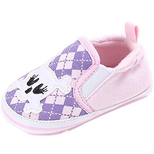 Fire Frog  Baby Loafer Shoes, Baby Jungen Lauflernschuhe Rose