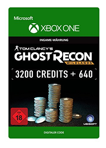 Tom Clancy's Ghost Recon Wildlands: Currency pack 3840 GR credits  [Xbox One - Download (Recon Kostüme Ghost)