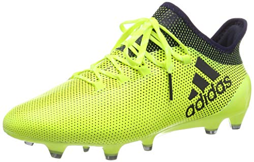 adidas X 17.1 Firm Ground Football Boots, Scarpe Sportive Indoor Uomo, Multicolore (Multicolour Yellow), 41 1/3 EU