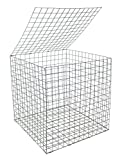 Gabione Korb 0,55x 0,55x 0,55m galfan-beschichtete Maschendraht
