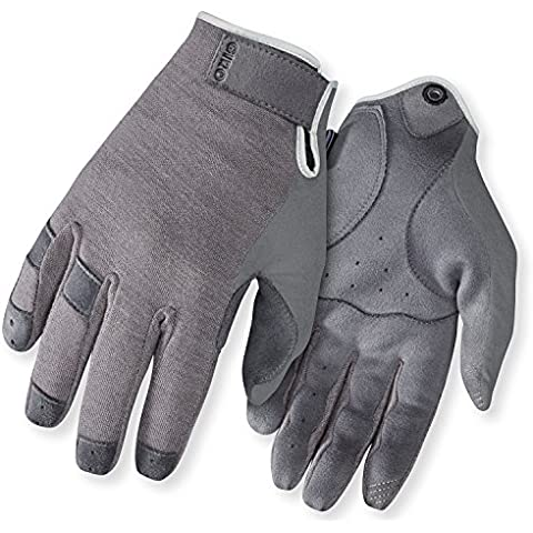 HOXTON LF ROAD CYCLING GLOVES GREY M by Giro - Fuji Road Bike