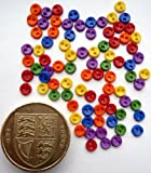 Micro Primary 4mm - Novelty Craft Buttons & Embellishments by Dress It Up
