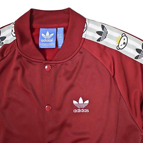 adidas -  Giacca sportiva - Uomo rosso vivo