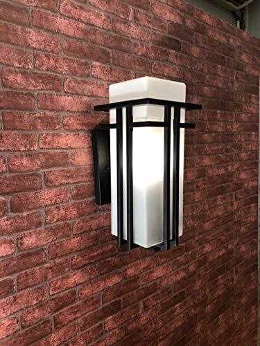 Lámpara pared exterior simple LED prueba agua exterior