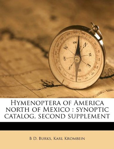 Hymenoptera of America north of Mexico: synoptic catalog, second supplement