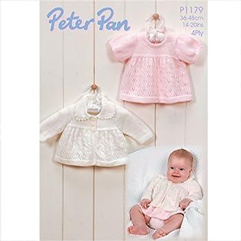 b5152e33476d Peter Pan Baby Children s 4 Ply Cardigans Knitting Pattern 1198 ...