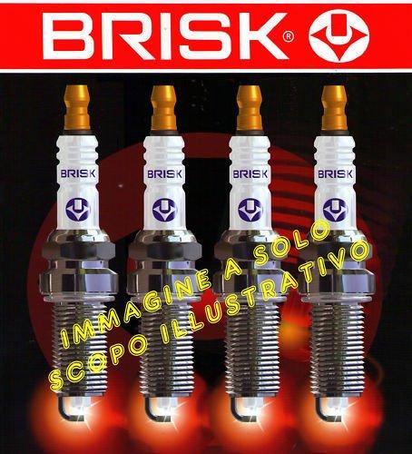 BR14YC-9 nr 4 candele accensione GRANDE PUNTO 1200 1.2 cc 48 kw