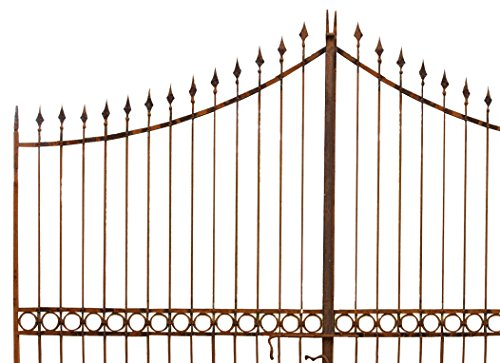 Tor aus Eisen voll 404x 288h cm