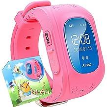 Reloj para Niños,TURNMEON® Reloj Infantil Pulsera Inteligente Localizador Compatible con Smartphones