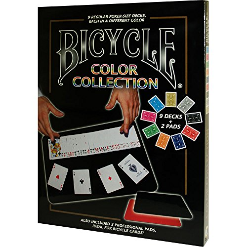Preisvergleich Produktbild MMS Bicycle Color Collection (9 Decks, 2 Close Up Pads) Tricks by M & M's