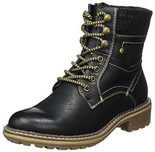 Tom Tailor 379990930, Stivali Donna nero (nero)