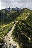 Posterlounge Holzbild 120 x 180 cm: Berge von Jens Berger
