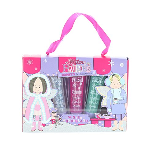 Grace Cole Glitter Fairies Honey's Hot Chocolate Treats 3 Lip Gloss Giftset