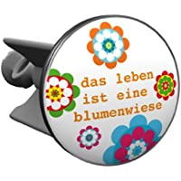 Plopp bonde Das Leben ist eine Blumenwiese , pour lavabo, bonde, bonde Excenter, déversoir
