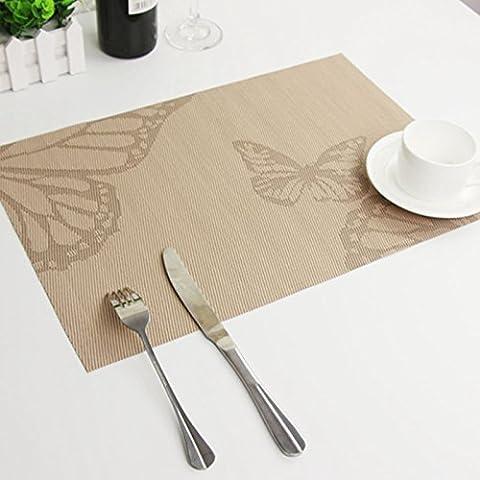 Tavolo rettangolare minimalista yifom Tappetino isolante in PVC pad occidentale
