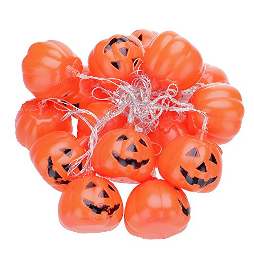 mit 16 Kürbissen Farbwechsel Halloween Deko (Halloween-hong Kong)