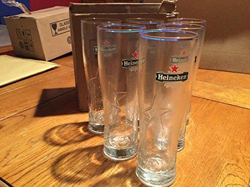 6 Enclosure Heineken Star Beer Glass Galopin 15 cl Neuf