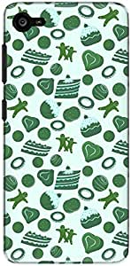 The Racoon Grip printed designer hard back mobile phone case cover for Lenovo Z2 Plus. (Green Pure)