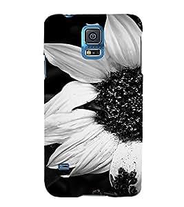 PrintVisa Flower Design 3D Hard Polycarbonate Designer Back Case Cover for Samsung Galaxy S5 Mini