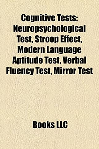 Cognitive Tests: Neuropsychological Test, Stroop Effect, Wechsler Intelligence Scale for Children, Mirror Test, Montreal Cognitive