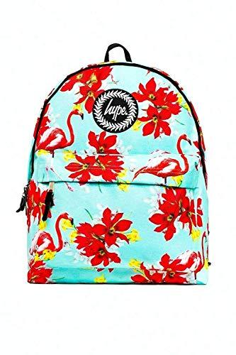 Hype Rucksack - Schulanfang 2019 Rucksäcke Tasche Neu Viele Farben & Designs - Mint Flamingo