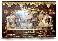 Kingdom Dates Arabian Ambiance Dates Filled with (Almond, Pistachio & Cashew) Box, 500g
