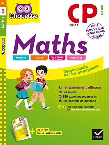 Collection Chouette - Maths: Maths CP (6-7 ans)
