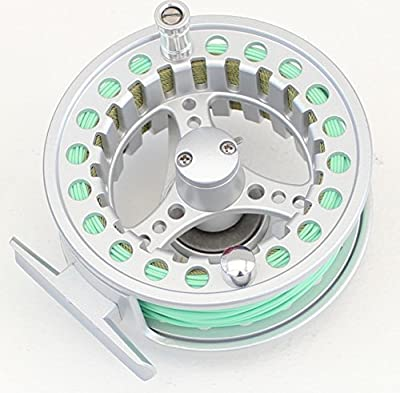 7/8 SALMON TROUT Fly Fishing Reels With fly line / backing line