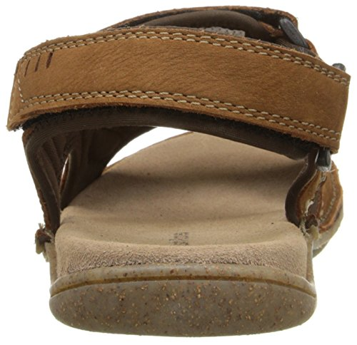 Hush Puppies Mens Rawson Grady Fisherman Sandal Tan NuBuck