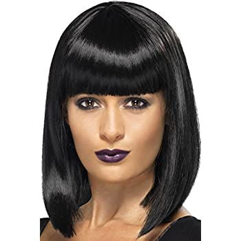 Wig Me Up 0073 3 P103 Perruque Dame Carnaval Carré Long