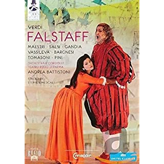 Verdi: Falstaff (Parma 2011) [Ambrogio Maestri, Luca Salsi, Antonio Gandia] [C Major: 725208] [DVD] [NTSC] [2013]
