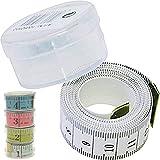 Schneider Maßband, Schneiderbandmass, Massband in kleinem transparenten Aufbewahrungsbehälter 150cm