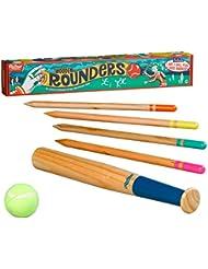 Ridley de Set de rounders en bois Multicolore