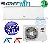 Klimagerät SPLIT 5,3 KW 18000 BTU 50 m² KLIMAANLAGE WiFi AMBER GREE R32 A++