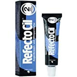 Refectocil - Tinte para pestañas,15 ml, negro azulado
