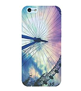 FUSON Ferris Big Wheel Background 3D Hard Polycarbonate Designer Back Case Cover for Apple iPhone 6S