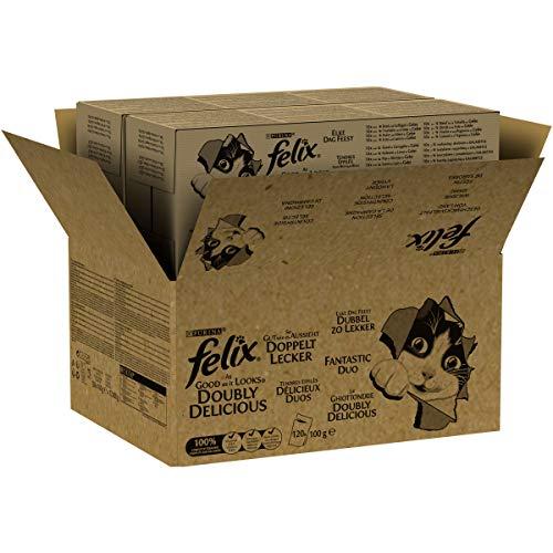 Felix So gut wie es aussieh Doppelt Lecker Geschmacksvielfalt vom Land, 120 x 100 g