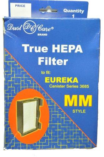 Eureka Kanister Stil mm True HEPA Filter, Staub Care Ersatz Marke, entworfen um Eureka Kanister Reihe Briefkastenständer über Segelmotiv Stil mm HEPA-Filter -