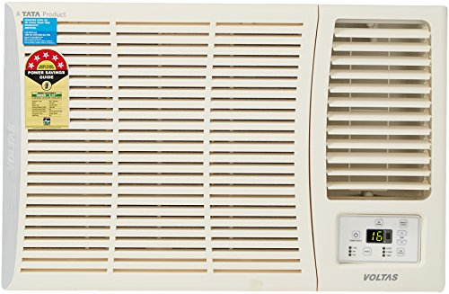Voltas 1 Ton 5 Star Window AC (Copper, 125 DY/125 DZA, White)