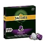 Jacobs Kapseln Lungo Intenso - Intensität 8 - 200 Nespresso®* kompatible Kaffeekapseln aus Aluminium (10 x 20 Kapseln)