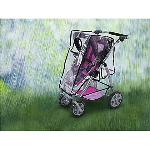 Bayer CHIC 2000 - Protector de lluvia para cochecito para muñecas