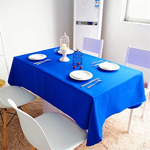 SONGHJ Einfarbig Tisch Tuch Tischdecke Mode Abendessen Zimmer Tuch Plain Tabelle Abdeckung E 110x160cm