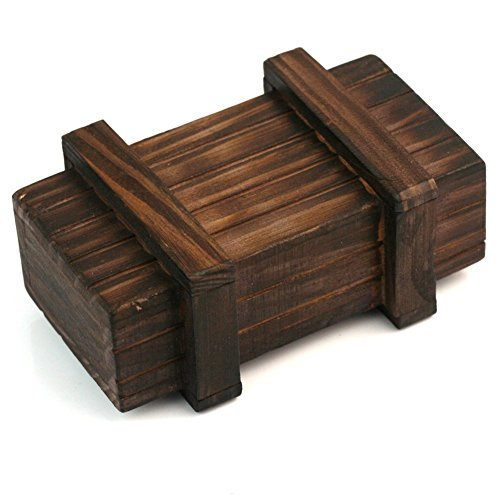 Magic Puzzle Box Wooden Trick Secret juegos puzzle - Mini