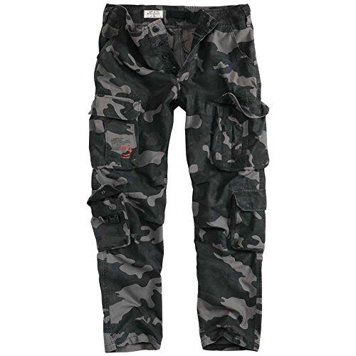 Surplus Airborne Vintage Slimmy Cargo Pantalon Camouflage, XL d580c48ba2