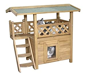 Kerbl Cat House Lodge, 77 x 50 x 73 cm from ALBLL