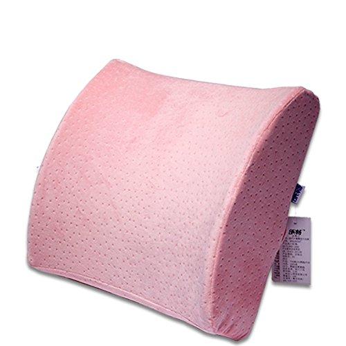Office Chair cintura/ memoria schiuma cuscino massaggiante/cuscinetto lombare/ traspirante lavabile-C