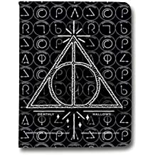 Leather flip Case carcasa iPad Air 2 WB License harry potter pattern - Hollows triangle N